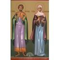 Sfantul Mucenic Areta, Valentin și Sevastiana