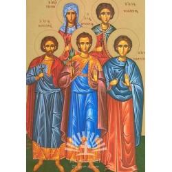 Sf. Mc. Marcian si Martirie, Valerie si Hrisaf, Sf. Tavita
