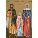 Sfintii Mucenici Terentie si Neonila sotia sa