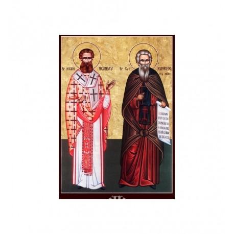 Sfantul Cuv. Ioanichie cel Mare, Sfantul Ierarh Nicandru