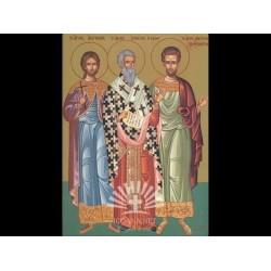 Sfinţii Mucenici Achepsima episcopul, Iosif preotul şi Aitala diaconul