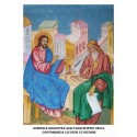 Icoana din Duminica dinaintea Inaltarii Sfintei Cruci - Convorbirea lui Iisus cu Nicodim