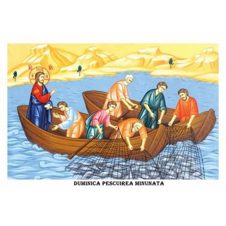 Icoana din Duminica Pescuirii Minunate