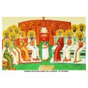 Icoana din Duminica Sfintilor Parinti de la Sinodul 7 Ecumenic