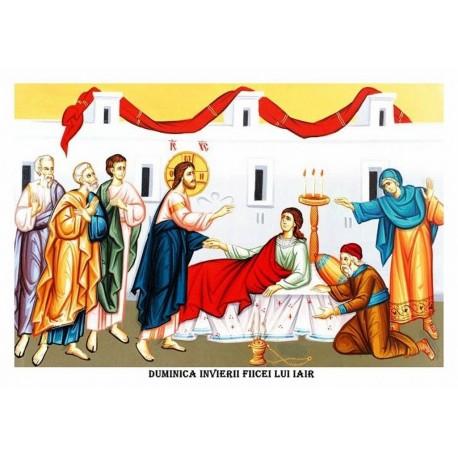 Icoana din Duminica Invierii fiicei lui Iair