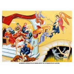 Icoana din Duminica Bogatului Nemilostiv