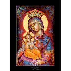 Icoana Maica Domnului Ocrotitoarea celor dragi