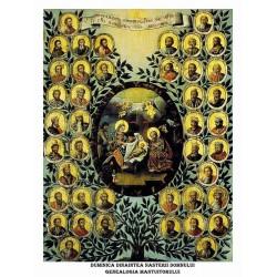 Icoana din Duminica dinaintea Nasterii Domnului - Genealogia Mantuitorului