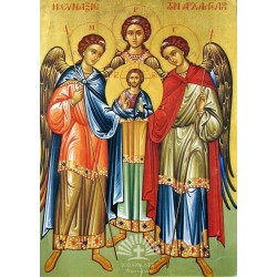 Archangels Gabriel, Michael and Raphael