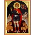 Icoana Sfantului Prooroc Daniel - pictata manual