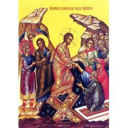 Icoana Invierea Domnului - doar panza
