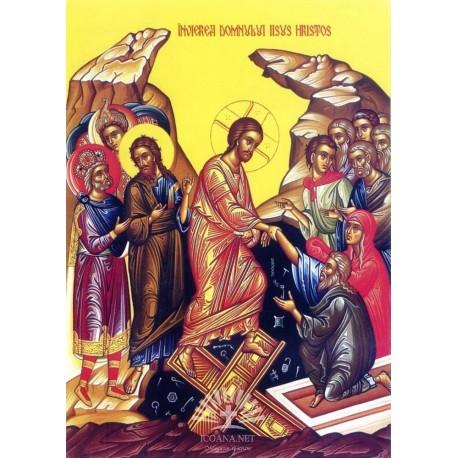 Icoana Invierea Domnului - panza