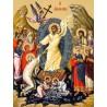 Icoana Invierea Domnului - dimensiune mare panza