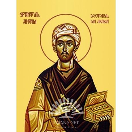 Sfantul Antim, doctorul din Arabia