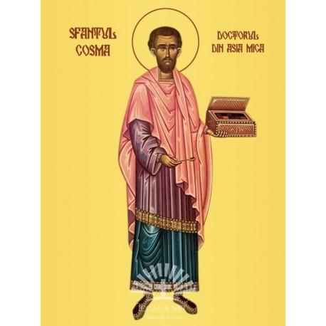 Sfantul Cosma, doctorul din Asia Mica