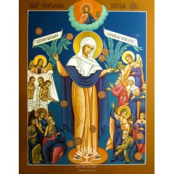 The icon of the Mother of God The joy of the afflicted