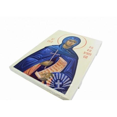 Icoana Sfintei Parascheva de la Iasi