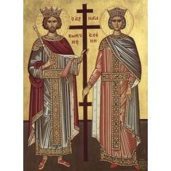 Icoana Sfintilor Imparati  Constantin si Elena