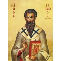 Icoana Sfantului Vasile cel Mare