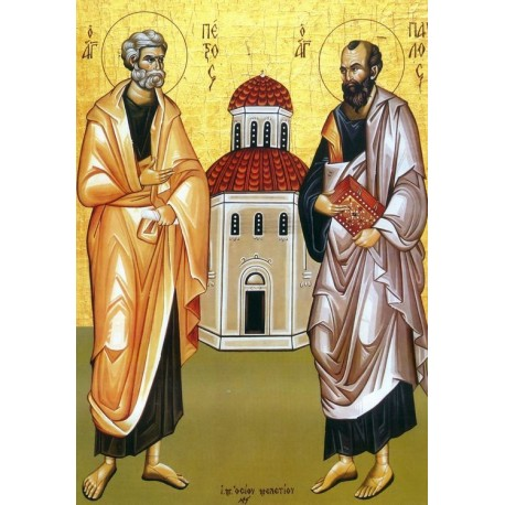 Icoana Sfintilor Apostoli Petru si Pavel