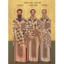 Icoana Sfintilor Trei Ierarhi Vasile, Grigorie si Ioan
