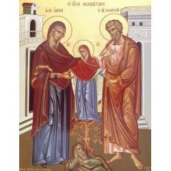 Icoana Sfintilor Parinti Ioachim si Ana