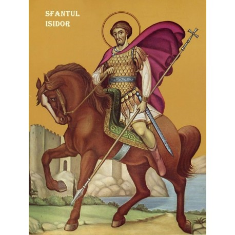 Icoana Sfantului Isidor din Hios
