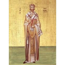 Icoana Sfantului Leonida, martir secolul 3