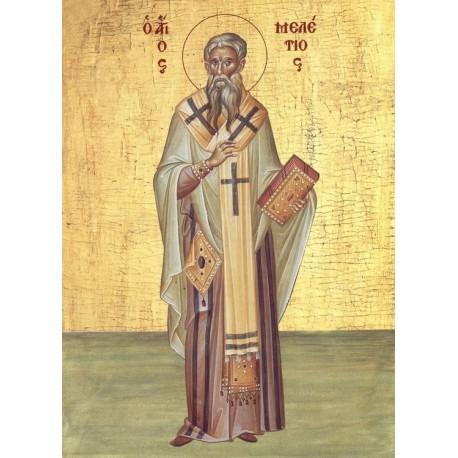 Icoana Sfantului  Meletie, Arhiepiscopul Antiohiei celei Mari