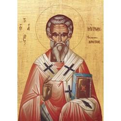 Icoana Sfântul Ierarh Miron, Episcopul Cretei