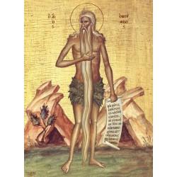 Icoana  Sfântului Cuvios Onufrie cel Mare