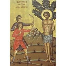 Icoana Sfantului Sebastian