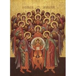 Icoana Soborul Sfintilor Arhangheli