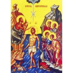 Icoana la Botezul Domnului - Boboteaza