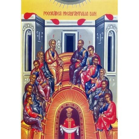 Icoana la Pogorarea Sfantului Duh - Rusaliile