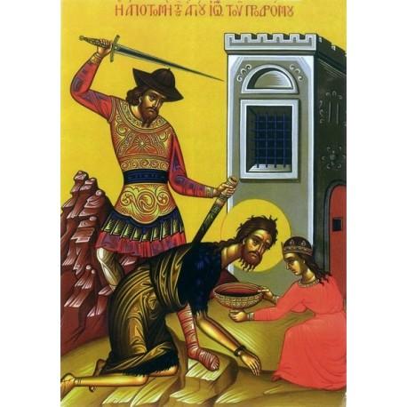 Icoana la Taierea Capului Sfantului Ioan Botezatorul