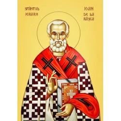 Sfantul Ioan de la Râşca şi Secu, Episcopul Romanului