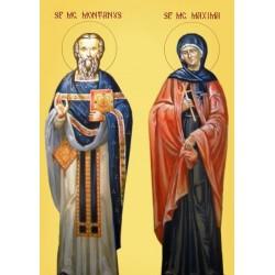 Sfantul Montanus si Maxima