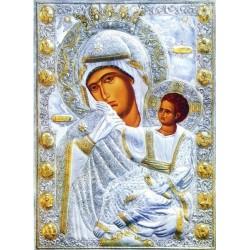 """Icoana făcătoare de minuni a Maicii Domnului """"Paramythia"""" de la Vatopedi"""