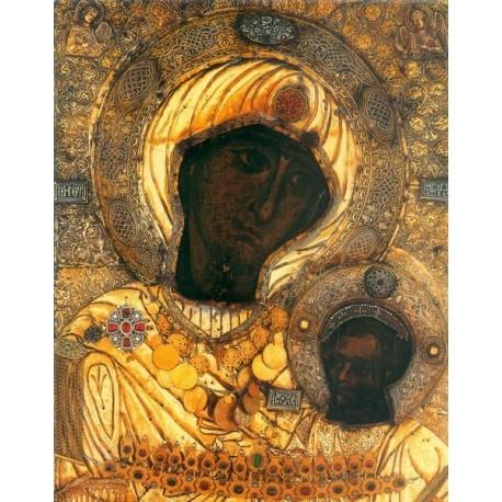 """Icoana Maicii Domnului """"Portăriţa"""" de la Mănăstirea Iviron(Muntele Athos)"""