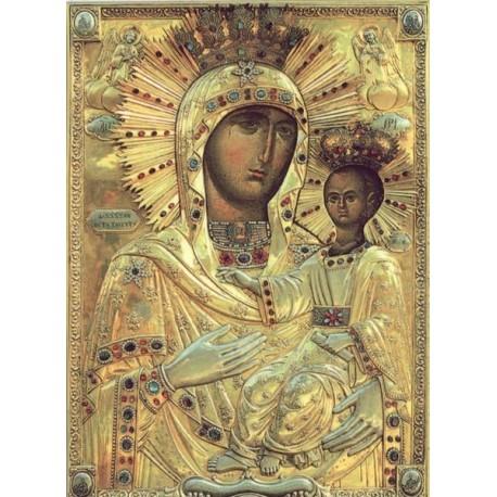 Icoana Maicii Domnului de la Mănăstirea Neamţ – Lidianca
