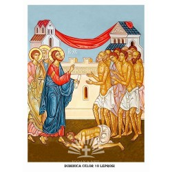 Icon of the 10 lepers Sunday