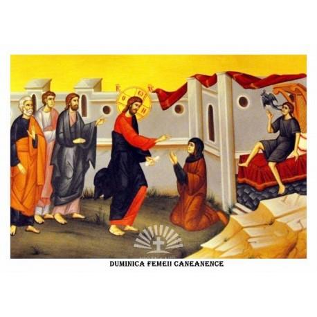 Icoana din Duminica Cananeencei