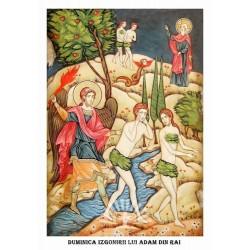 Icoana din Duminica Izgonirii lui Adam din Rai