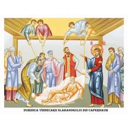 Icoana din Duminica Vindecarii Slabanoguilui din Capernaum