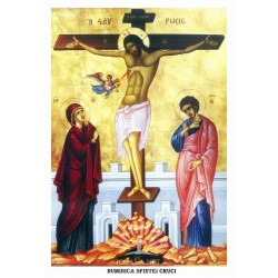 Icoana din Duminica Sfintei Cruci