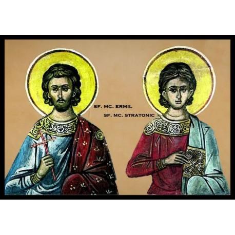Sfintii Mucenici Ermil şi Stratonic