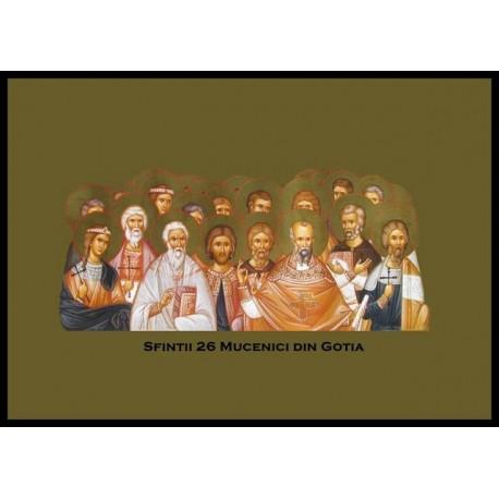 Sfinții 26 Mucenici din Goția