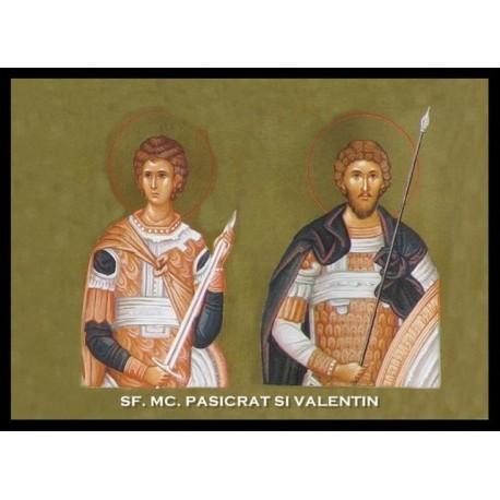 Sfintii Mucenici Pasicrat şi Valentin
