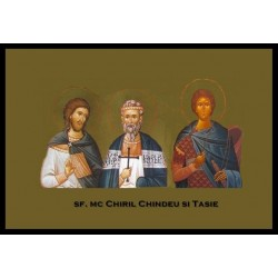 Sfintii Mc. din Dobrogea Chiril, Chindeu si Tasie
